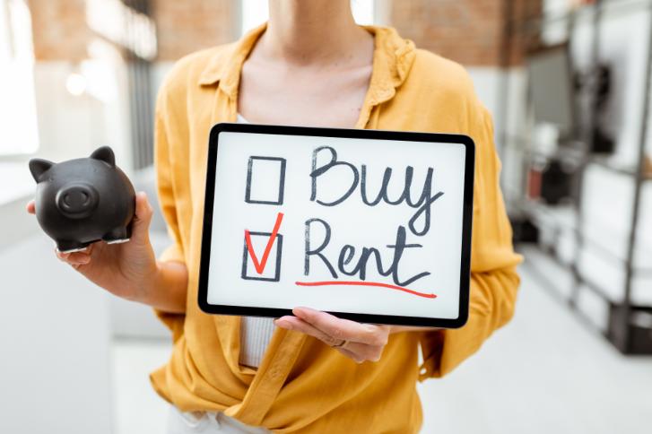 louer est mieux qu'acheter une maison